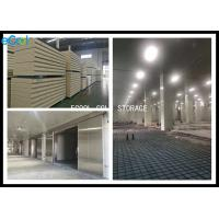 Quality Fruit Vegetable Cold Storage Panels Double Side Stainless Steel Material Surface wholesale