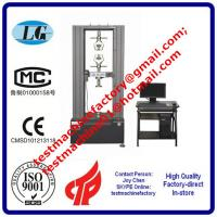 Buy cheap universal tensile tester for heat insulating strip/heat insulation plaster from wholesalers