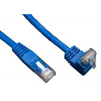 Quality 90 Degree RJ45 Angled Cat 6 Network Cable ABS Plug Material For Telecom Communication wholesale