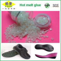 Quality High Adhesive Strength Hot Melt Pellets , High Temperature Shoe Sole Glue wholesale
