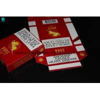 China Widely Usage Paper Cardboard Painted Use In Cigarette, Gift And Soap Box on sale