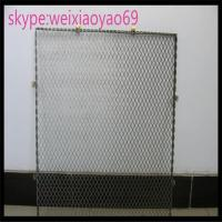 China 304 diamond hole  Stainless Steel Expanded Metal/  expanded wire mesh for decorate/metal mesh on sale