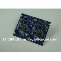 Quality Blue Soldering Impedance Controlled PCB Multilayer FR4 for Controller wholesale