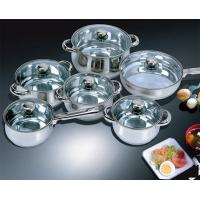 Quality Stainless Steel Cookware 12pcs cookware set wholesale
