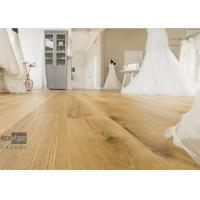 Quality Bespoke 20/6 x 300 x 2200mm ABC grade Oak Engineered Flooring for Royal Wedding Dress Pavilion in UK wholesale