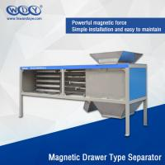 Quality Energy Saving Powder Magnetic Separator Machine With Vibrator 380VAC Input wholesale