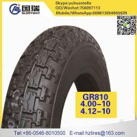 hot sale 4.00-10 motorcycle tyre of gloryway brand manufacturer