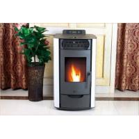 Quality Freestanding Pellet Stove Metal Material , Pellet Wood Burning Stove 69x52x92cm wholesale