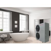 China Simple Installation EVI Air Source Monoblock Heat Pump Water Heating Control System For Bathroom on sale