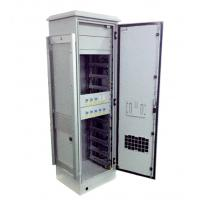 Quality Telecom Electronics / Battery IP55 Outdoor Cabinet Polyurethane Insulation 240V AC Heater wholesale