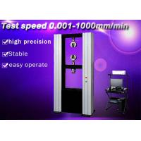 Quality Different Speed Settiing Electronic Universal Testing Machine For Rubber wholesale