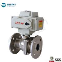 Quality ASME B16.34 Stainless Ball Valve of Petrol Chemical Valve with Motorized Actuator wholesale