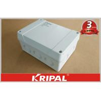 Quality Waterproof Outdoor Junction Box IP55 / IP66 , Cable Terminal Junction Box For Lighting wholesale