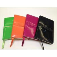 Quality Elegant PVC Leather Agenda with Decorated Cove and Band wholesale