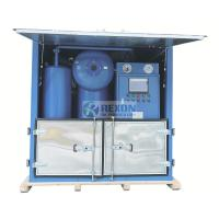 China Water Proof Type Onsite Power Station Use Electric Insulating Oil Purifier Machine 9000Liters/Hour on sale