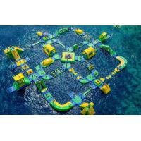 Quality Popular Outdoor Inflatable Floating Water Park Games For Adults Bounce House Amusement Park wholesale