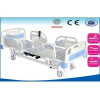 Quality 3 motors remote control Electric ICU Bed With abs side rails wholesale