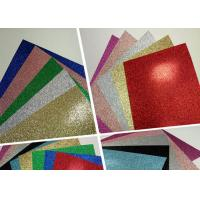 Quality Handmade Color Corrugated Glitter Card Paper Holiday Decoration For Card Making wholesale