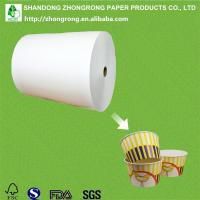 China PE coated paper for fried chicken packaging on sale