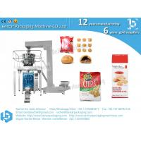 Quality Full automatic grain snack biscuit packing machine with weigher and Z elevator wholesale