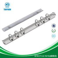China Metal 6 hole clip, book ring binding, ring binder mechanism on sale