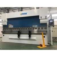 China 200 Ton Automatic CNC Sheet Metal Press Brake Bending Machine DA52S High Precision on sale