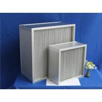 Quality 400 degree ceramic glue air filters H14 wholesale