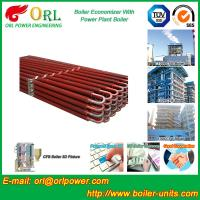 Quality Power Plant CFB Boiler Economizer Silver Boiler Spare Part For Petroleum Industry wholesale