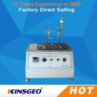 Quality Thermal Deformation Friction Testing Equipment Alcohol Abrasion Tester 310×200 Mm wholesale