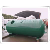 Quality Industrial Compressed Oxygen Air Storage Tanks , Liquid Oxygen Portable Tanks With Bracket wholesale