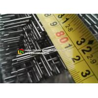 Quality Welded Architectural Stainless Steel Wire Mesh 0.1 - 2m Length Gavlanized Finish wholesale