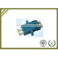 Quality LC SM Duplex Sc Fiber Connector With Flange , Fiber Optic Coupler Singlemode wholesale