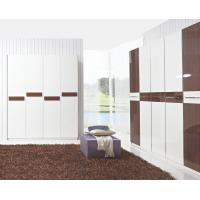 Quality Hotel Interior Design by project Furniture in-wall Wardrobe cabinet high glossy melamine wholesale
