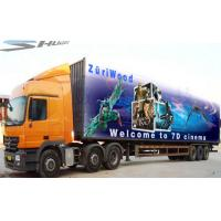 Quality Mobile Truck 7D Cinema System Waterproof Motion Cinema Seat wholesale
