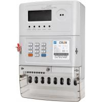Three Phase STS Keypad Prepaid Meters With Bs Mounting  GPRS Communication