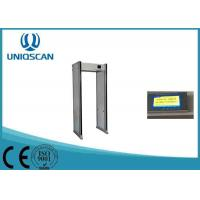 Quality Airport Metal Detector Body Scanner , 18 / 24 / 33 Zones Security Walk Through Gate wholesale