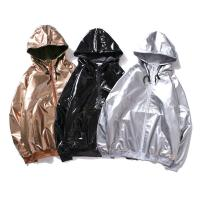 Quality Hip Hop Style B-BOY Mens Reflective Jacket Windbreak Shining Windproof wholesale