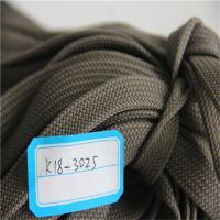 China Belt Braided Webbing Woven Fabric 2 Inch Width 100% Polyester High Strength on sale