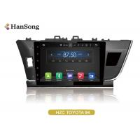 Quality 10.1  Inch  Toyota Car DVD Player Navigation System For Toyota Corolla 2014-L wholesale