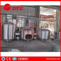 Quality 300 L Micro Beer Brewery Equipment Homebrew Beer Making Machine wholesale