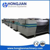 Quality High-quality Gravure Cylinder Making Equipment Fully Automatic Production Line Rotogravure Cylinder Plant Plating Tanks wholesale