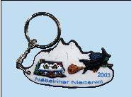 China soft PVC keyholder with shoes shape on sale