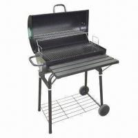 Quality Charcoal Barbecue Grill with 0.7mm Steel Plate Thickness, Measures 66.5 x 40cm wholesale
