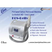 Quality Professional Mini Laser Tattoo Removal Machine K6S - Belly For Skin Pigment wholesale