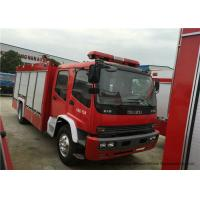 Quality Industrial 4x2 Fire Fighting Truck With Water / Foam Tank 6 - 8 Ton Capacity wholesale