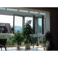Quality Bedroom Energy Efficient Folding Glass Windows Silver Replacement Finish Surface wholesale