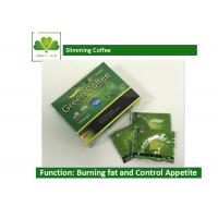 Quality Body Beauty Slimming Coffee Diet , Fat Burner Green Coffee For Weight Loss wholesale