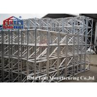 Buy cheap Prg Circle Stage Light Truss , Portable Lightweight Stage Lighting Truss Systems from wholesalers