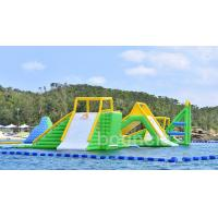 Quality Giant Inflatable Aqua Park Sports Equipment / Inflatable Water Park Games For Sea wholesale