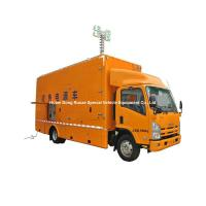 Quality ISUZU Mobile Generator Truck For Emergency Power Supply 200kw 50hz 3 Phase 220V Unit wholesale